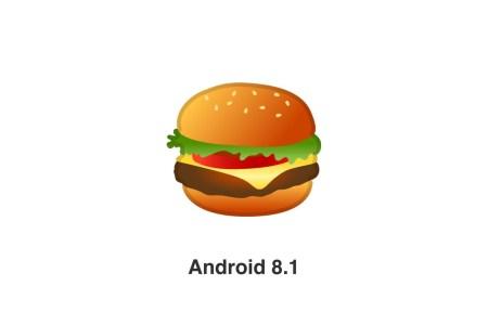 Google научился делать чизбургер правильно и исправил эмодзи в обновлении Android 8.1 [Обновлено: сыр и пиво тоже перерисовали]