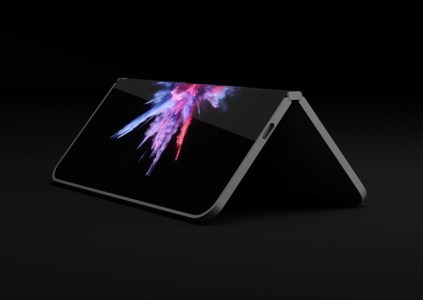 Дизайнер создал рендеры сгибающегося мобильного устройства Surface на основании патентов Microsoft
