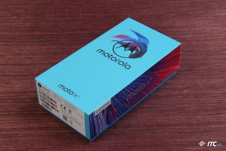 Обзор Moto X4