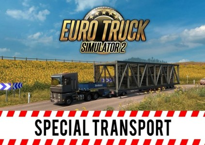 Euro Truck Simulator 2 – Special Transport: некоторым нравится потяжелей