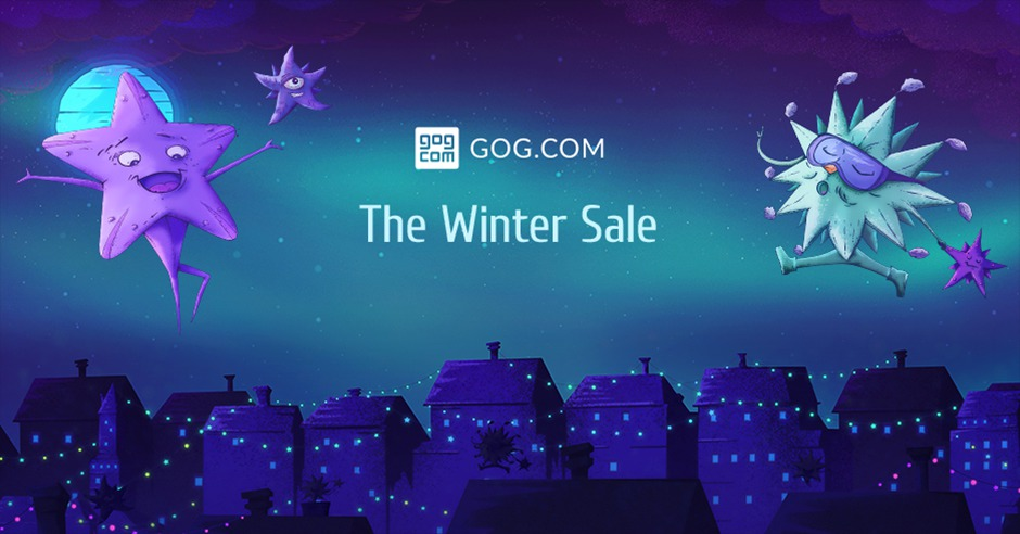 """На GOG.com запустили """"Зимнюю распродажу"""" со скидками на игры до 90% и бесплатно раздают Grim Fandango Remastered - ITC.ua"""