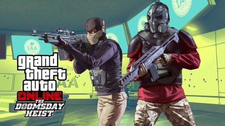 Rockstar Games выпустила крупнейшее обновление The Doomsday Heist / «Ограбление Судного Дня» для GTA Online