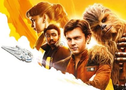 В сети появился первый постер фильма «Solo: A Star Wars Story», но в Disney заявили, что он «неофициальный»
