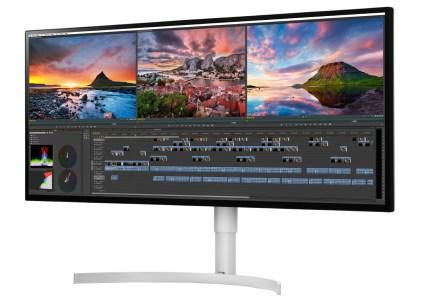 LG анонсировала три монитора с сертификацией DisplayHDR 600