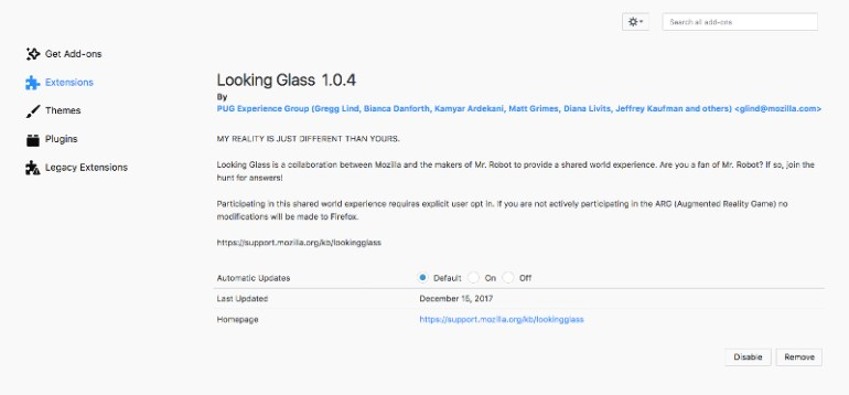 Mozilla тайком устанавливала в браузеры Firefox расширение для рекламы сериала Mr. Robot, «заботясь о приватности пользователей»