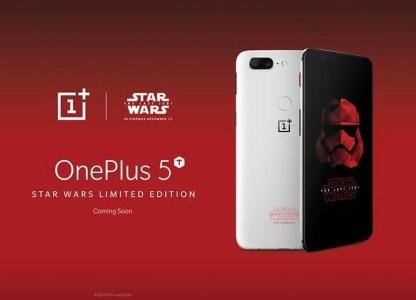 Ограниченная партия OnePlus 5T Star Wars Limited Edition включает 150 тыс. смартфонов