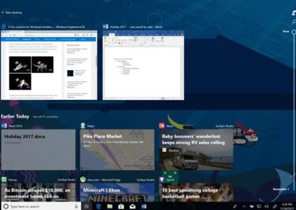 Вышла новая тестовая сборка Windows 10: функция Timeline, визуальные изменения и новые возможности Cortana