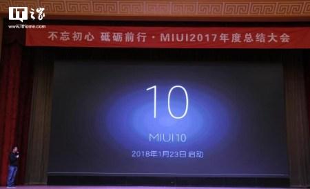 Xiaomi номинально анонсировала следующую версию фирменной оболочки MIUI 10