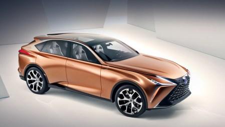 Lexus LF-1 Limitless – концепт-кар люксового кроссовера в агрессивном стиле molten katana