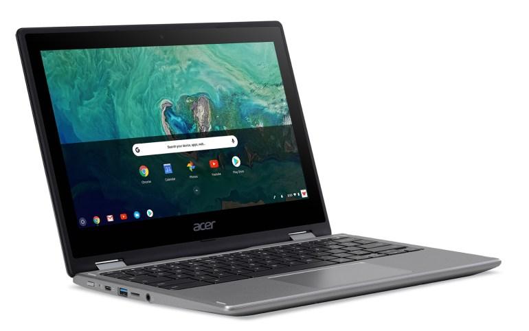 Acer анонсировала гибридный Chromebook Spin 11 и ещё пару устройств с Chrome OS
