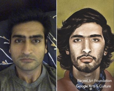 Приложение Google Arts&Culture использует технологию распознавания лиц для поиска «двойников» пользователей среди картин и скульптур