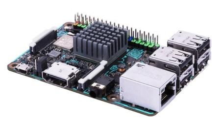 Одноплатный ПК ASUS Tinker Board S получил 16 ГБ флэш-памяти и подорожал до $80