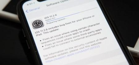 Обновление iOS 11.2.6 устранило проблему с индийским символом