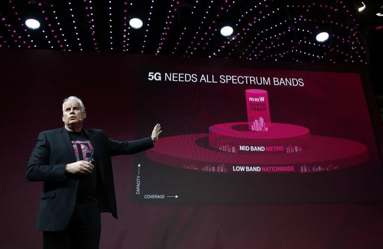 На MWC 2018 крупнейшие мобильные операторы T-Mobile, Sprint и Verizon рассказали о своих планах по запуску 5G-сетей в США