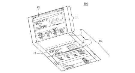 LG запатентовала компактную «тройную» раскладушку с двумя шарнирами, которую можно трансформировать в планшет