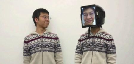 «Аватар по-японски»: человек-суррогат с планшетом на лице
