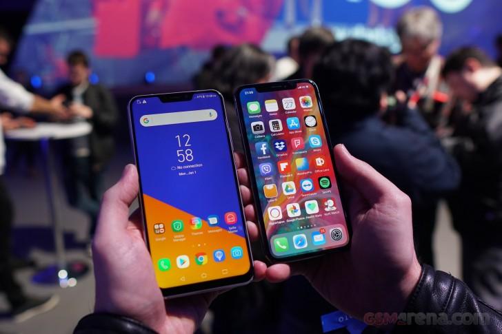 Представлены смартфоны ASUS Zenfone 5 и Zenfone 5z с вырезом в экране «меньше, чем у iPhone X», обилием функций ИИ и анимированными смайлами ZeniMoji