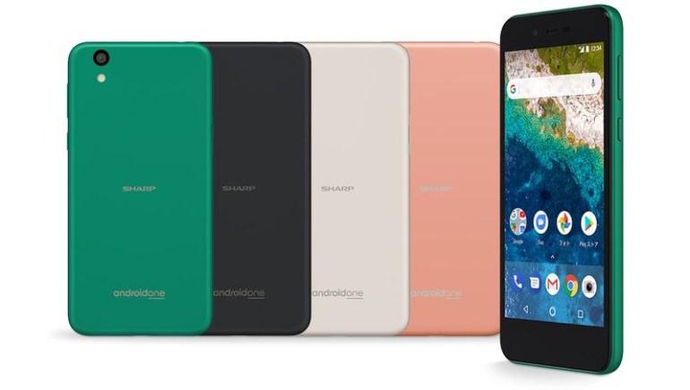 Новый смартфон Sharp программы Android One выглядит как обновленная версия Apple iPhone 5c
