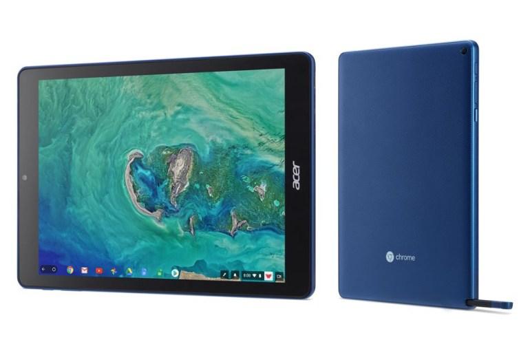 Acer представила первый в мире Chrome OS планшет Chromebook Tab 10, ориентированный на сферу образования