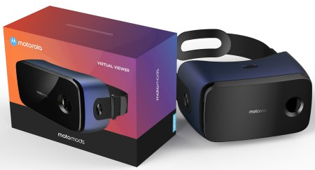 Motorola готовит новый модуль Virtual Viewer MotoMod для смартфонов Moto Z, представляющий собой гарнитуру VR