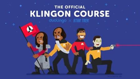 Онлайн-сервис Duolingo запустил курс изучения клингонского языка из сериала Star Trek (там же можно выучить высокий валирийский из Game of Thrones)