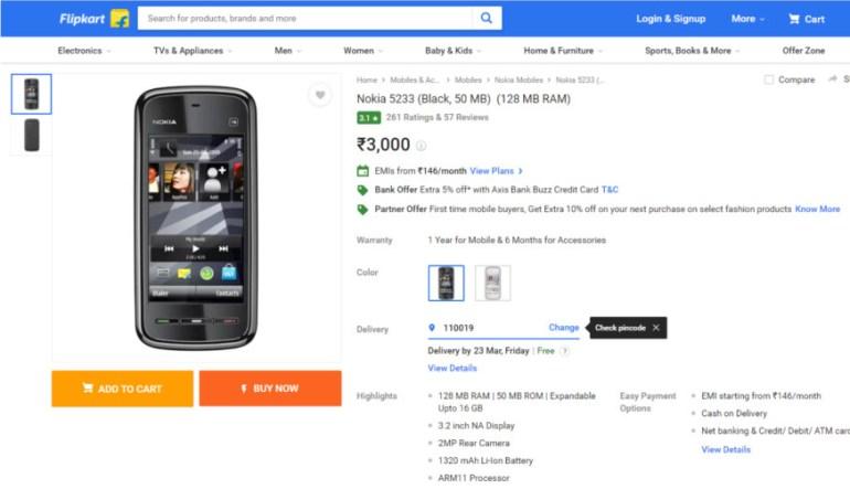 Взорвавшийся смартфон Nokia 5233 стал причиной гибели подростка в Индии