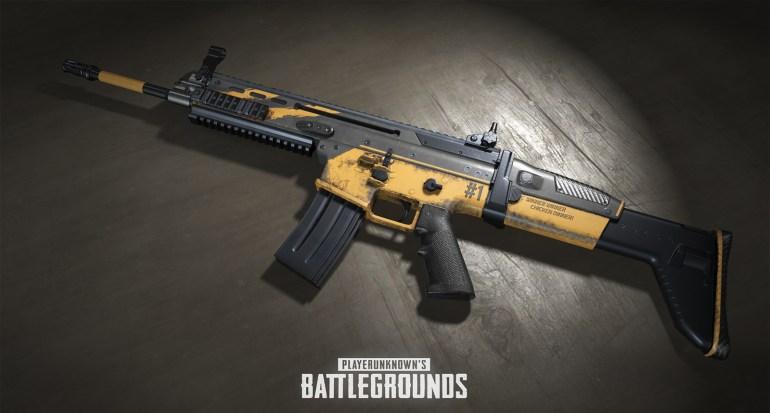 В онлайн-шутере PlayerUnknown's Battlegrounds появилась система скинов для оружия