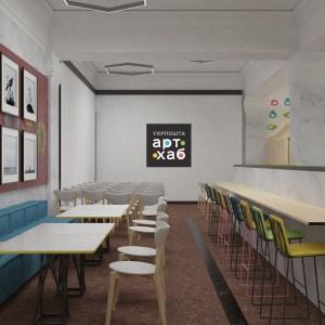 «Укрпошта» открывает в здании киевского Главпочтамта коворкинг 3-в-1 «Укрпошта Арт Хаб»