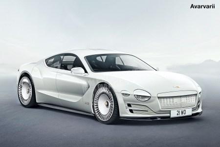Первым электромобилем Bentley станет четырехдверное спорткупе на основе Porsche Mission E