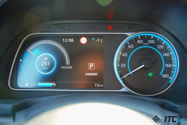 Тест-драйв Nissan LEAF 2018 в Украине: мощный двигатель за $35 тыс
