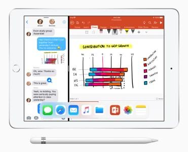 В Украине официальные продажи нового iPad с поддержкой Apple Pencil стартуют 25 мая по цене от 11599 грн (Wi-Fi) и 15599 грн (LTE)
