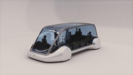 Илон Маск показал электробус для подземных тоннелей The Boring Company. В приоритете теперь перевозка пассажиров