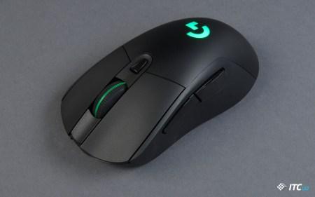 Обзор игровой беспроводной мыши Logitech G703