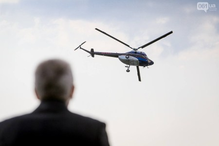 Украинский вертолет «Надія» совершил свой первый тестовый полет