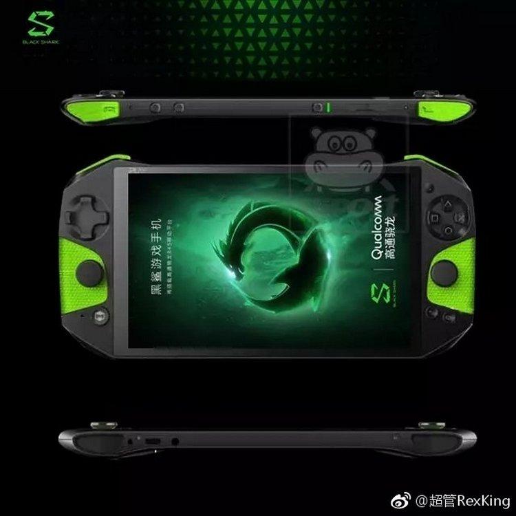 Живая фотография геймерского смартфона Xiaomi Blackshark показала, что разработчики предусмотрели съемный Bluetooth-контроллер
