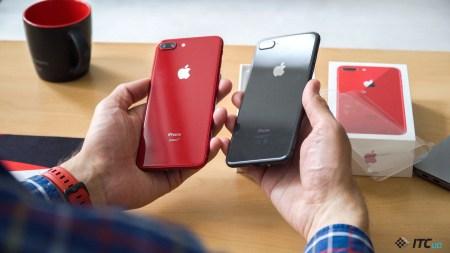 Распаковываем iPhone 8 Plus (PRODUCT)RED
