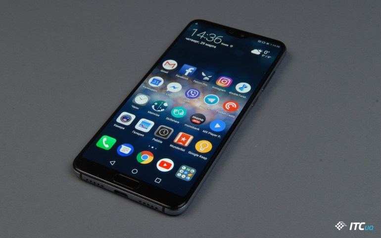 Обзор Huawei P20 Pro