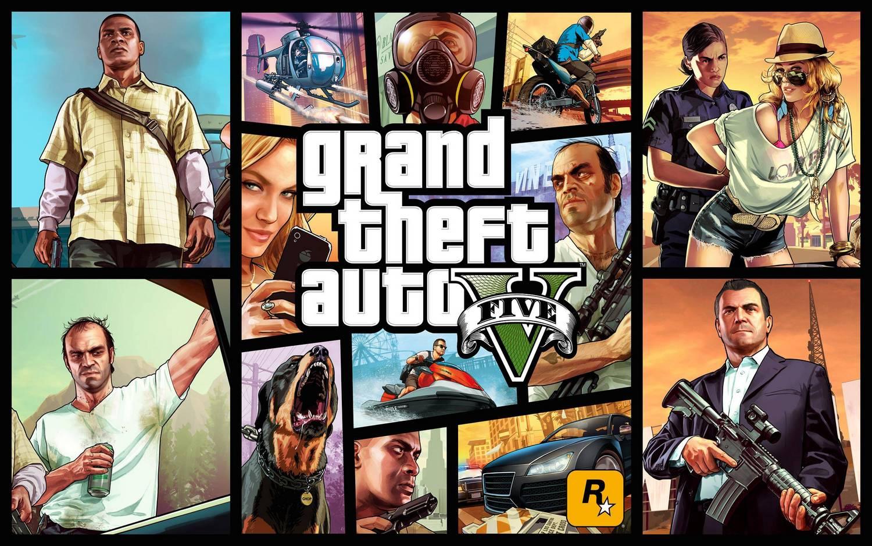 с момента выхода в 2013 году игра Gta V продалась тиражом 90