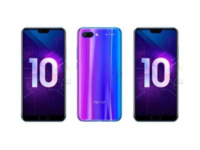 В сеть попали официальные изображения и характеристики смартфона Huawei Honor 10, который представят уже 19 апреля