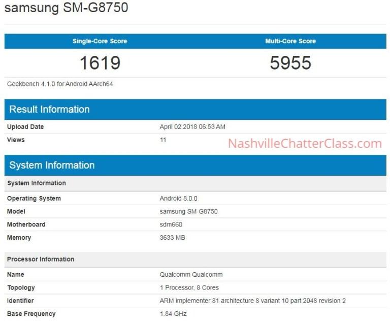 Смартфон Samsung Galaxy S9 mini, предположительно, протестирован в Geekbench