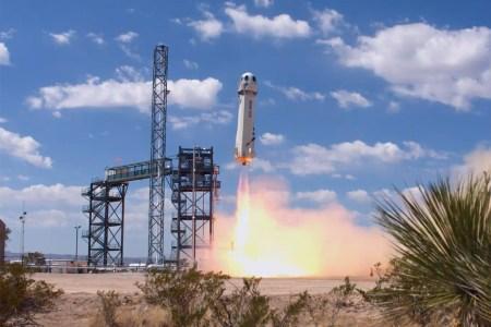 Blue Origin успешно провела тест ракеты New Shepard, запустив её на рекордную высоту