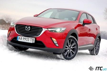 Тест-драйв Mazda CX-3: стильно, быстро, но не доступно…