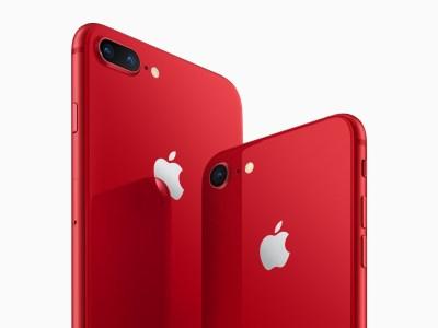 Apple представила «красные» iPhone 8 и iPhone 8 Plus специальной серии RED Special Edition. Заказ на смартфоны будет открыт завтра, в магазинах они появятся 13 апреля