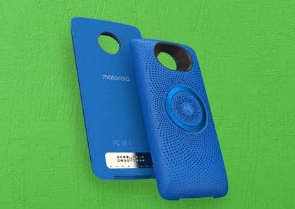 Moto Stereo Speaker — самый доступный модуль со стереодинамиками для смартфонов Moto Z
