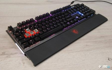 Обзор игровой механической клавиатуры MSI Vigor GK80