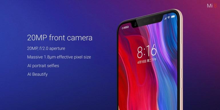 Представлены смартфоны Xiaomi Mi 8, Mi 8 SE и Mi 8 Explorer Edition