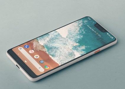 Как может выглядеть смартфон Pixel 3 XL с вырезом вверху экрана