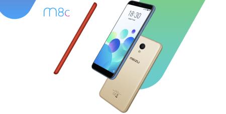Новый бюджетный смартфон Meizu M8c получил экран 18:9 диагональю 5,45 дюйма и SoC Snapdragon 425