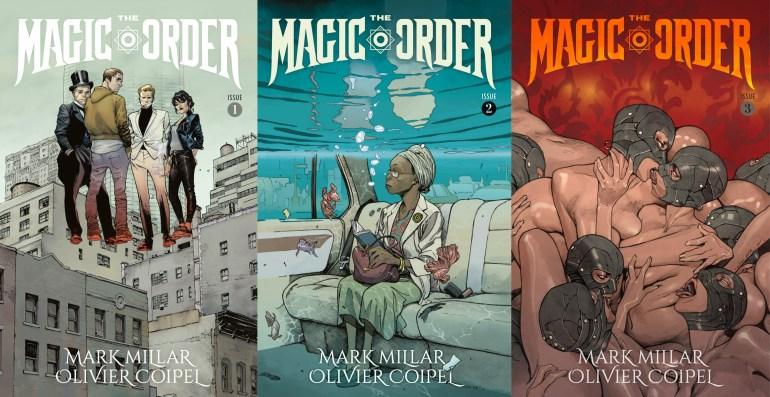 """Netflix опубликовал трейлер своего первого бумажного комикса The Magic Order / """"Волшебный Орден"""" от Марка Миллара"""