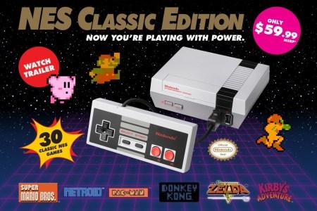 Снятая с продажи ретро-консоль NES Classic Edition снова вернется в магазины 29 июня 2018 года